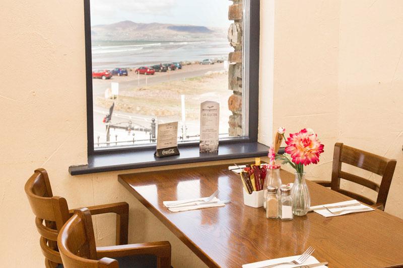 Rosspoint Restaurant Rossbeigh Beach Views