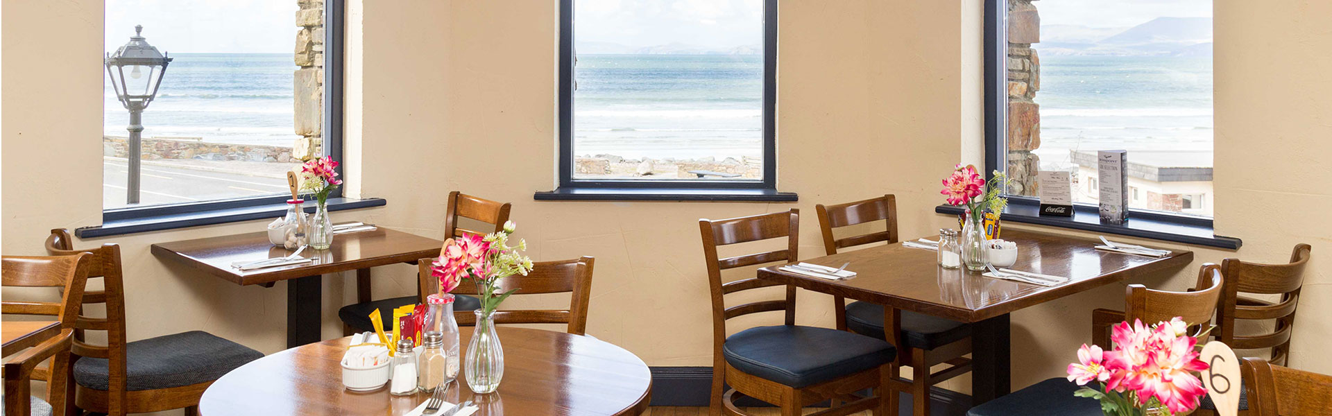 Rosspoint Restaurant Rossbeigh Restaurant with Beach Views