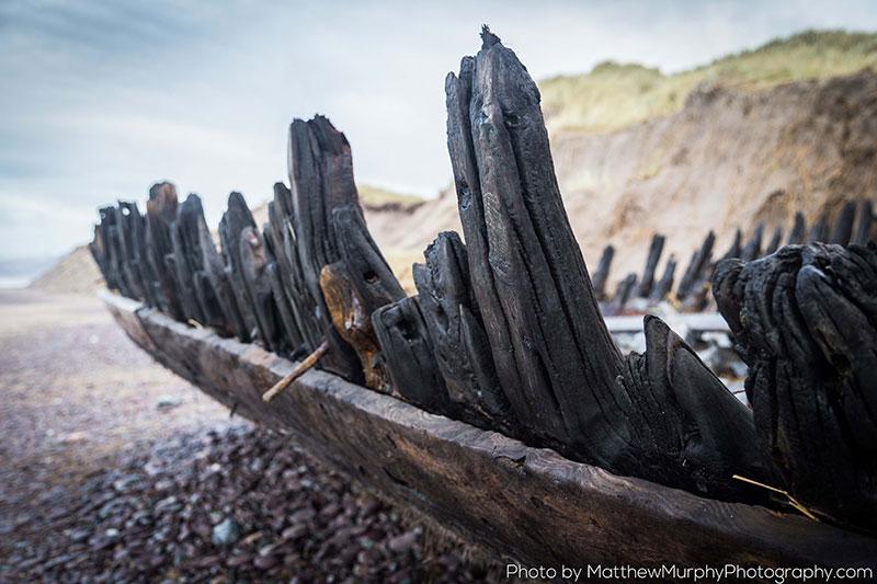 Rossbeight Sunbeam Shipwreck by Matthew Murphy